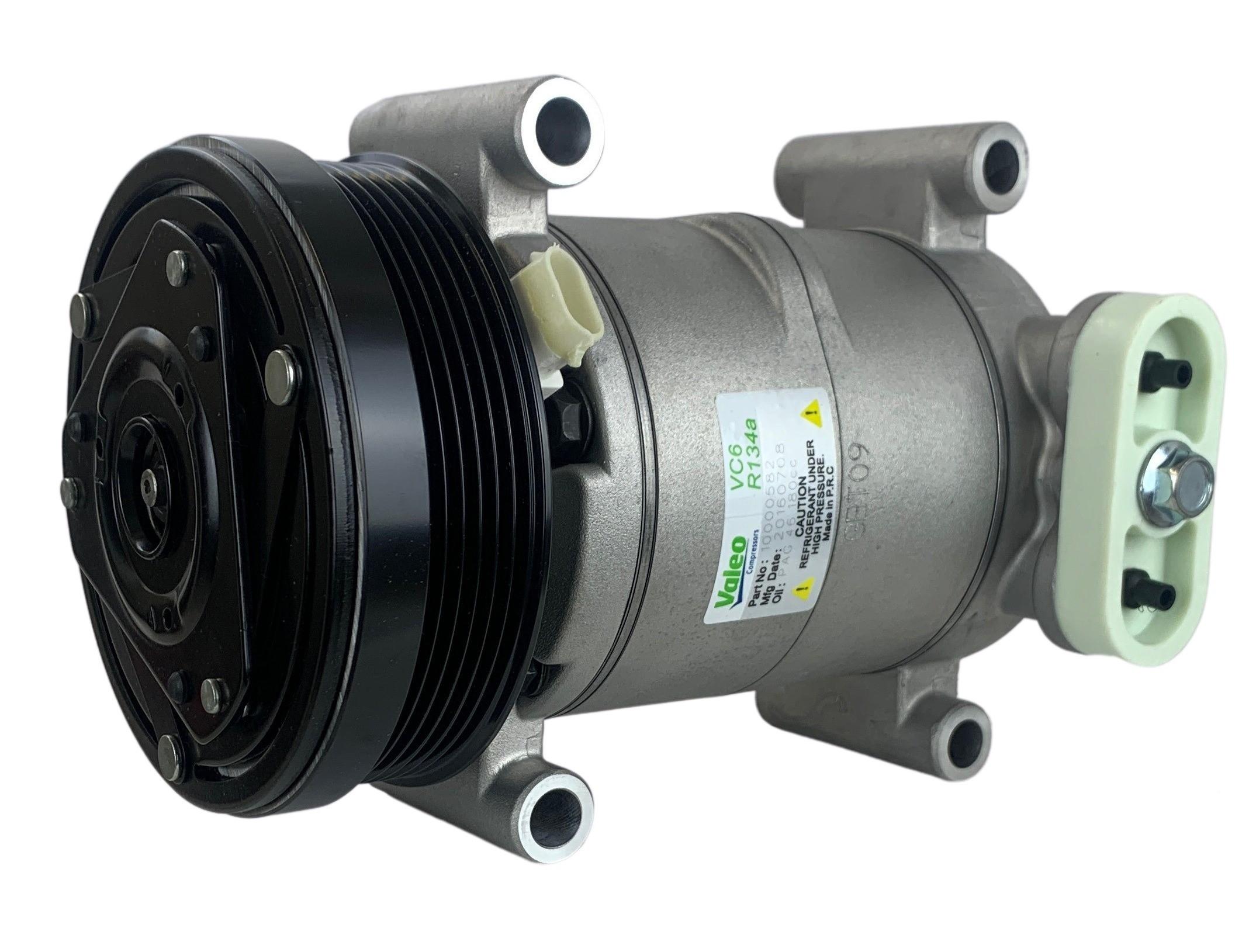 Valeo OEM New Compressor With Clutch 15-20151VAL