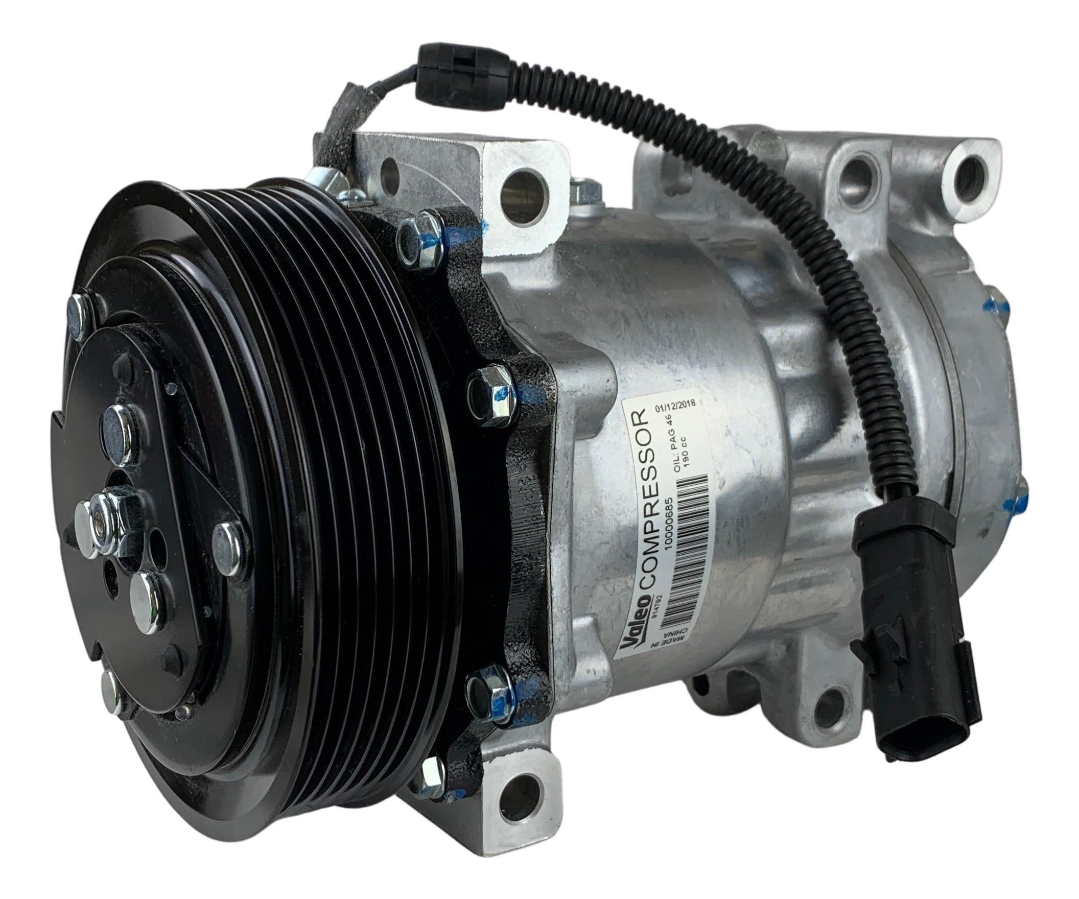 Valeo OEM New Compressor With Clutch 40595.7T1VAL